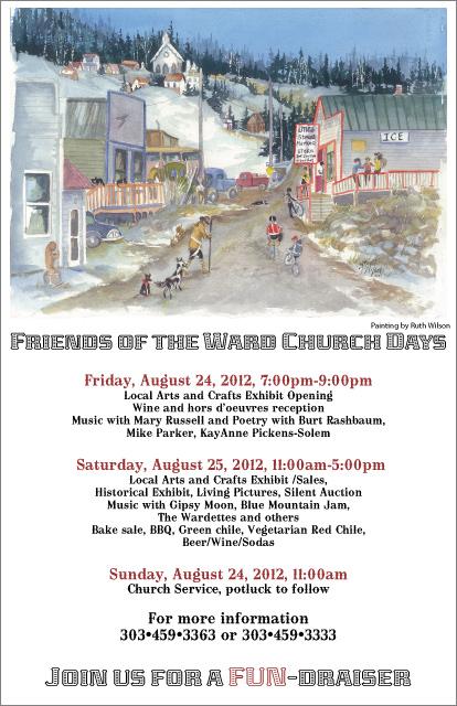 Friends of the Ward Church Days